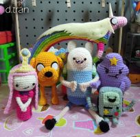 Adventure Time Group Crochet by yimtea