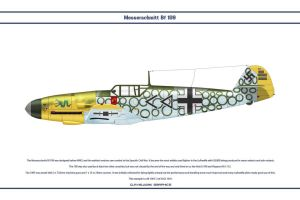 Bf 109 F-2 JG3 2 by WS-Clave