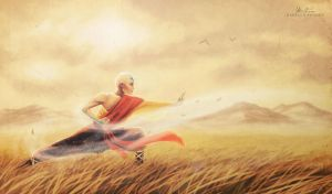 Airbending by Artylay