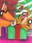 TF: Merry Christmas by MorganCluelessGoat