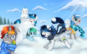 Comm: Winter Fun by pridark