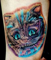cheshire cat tattoo by tat2istcecil