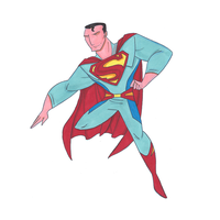 Superman by sillybilly13