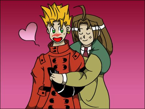 Vash x Millie by Celesma