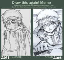 Draw This Again Meme (1) by Zungie