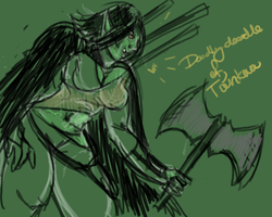 T'ankwa doodle by XantheStar