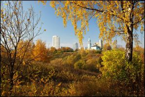 Moscow autumn... by Nickdan