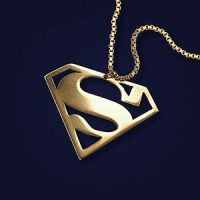 Superman Pendant by JeremyMallin