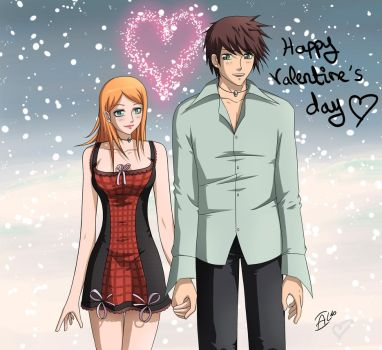 Happy Valentines Nee-chan :D by KaenDD