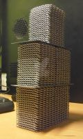 Tower of chainmaille by unreal-hunter