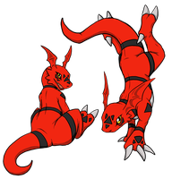 Guilmon by BasiliskZero