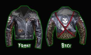 punk rock jacket by anzalone