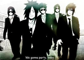[UchihaS] - we gonna party by Lesya7
