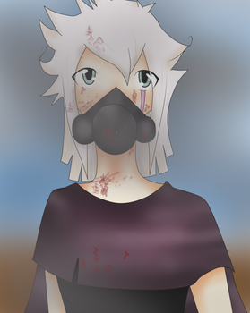 Waking up to ash and dust. by Kiteen