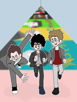 rock and roll hall of fame!!! by runner-painter