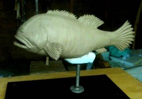 WIP Fish Puppet by TimBakerFX