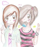 Friends 4ever by Walbi