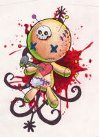 Voodoo Doll by Omedon