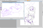 More MGC Sketchy WIPS by ViktoriaN-aka-Button