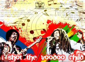 I Shot the Voodoo Child by noizkrew