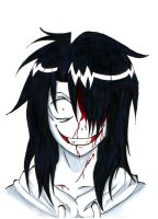 Jeff The Killer- insane face by lushitasakabe
