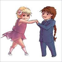Prom 2x4 Chibis by soltian