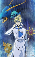 Siebold, Kalos Elite Four by ShawnnL