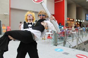 Shizuo Throws Himself on the Ground by StoppableUnforce