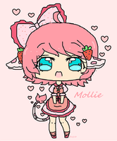 New oc-mollie by Chibii-chii