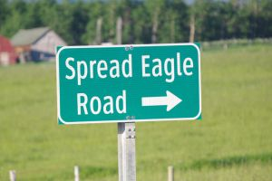 Spread Eagle Road by KSPhotographic