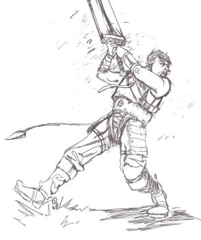 Guts sketch 1 by Dunnstar
