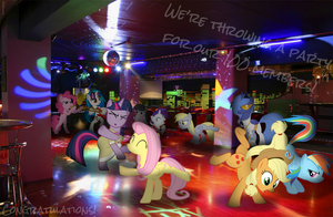 Party Like it's 1,000! by EonEvolution