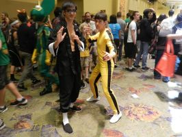 Phoenix Comicon 2014 Bruce Lee duo by Demon-Lord-Cosplay