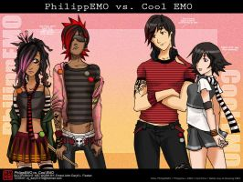 PhilippEMO vs. Cool EMO by Ernz1318