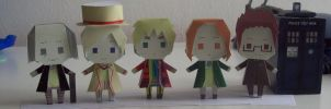 Paperdoll Not the five doctors by Rabenstolz