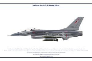 F-16 Thailand 102 Sqn by WS-Clave