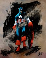 Scalera Captain America by SpicerColor