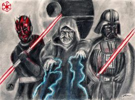 Sith Lords by PharmArtist