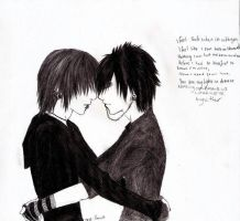 emo yaoi dudes by lovelessfurubakare
