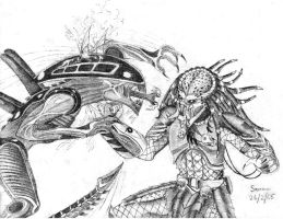 AVP battle by Saera-Song