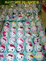 Hello Kitty Easter Eggs by Rene L by Rene-L