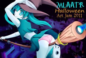 MLAATR ART JAM HALLOWEEN by shadow2007x