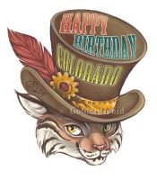 Colorado Birthday Badge Commission by GoldenDruid