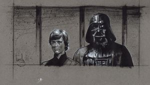 Darth Vader. Luke skywalker by JeffLafferty