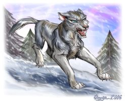 for Grey Wolf by OmegaLioness