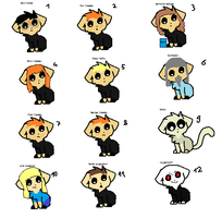 Free Harry Potter Kittens by superstel