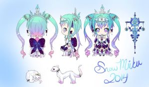SNOW MIKU 2014 by SYGNALLOST