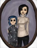 Welcome home Coraline -colored by ab-lynx