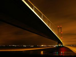 Humber bridge by mahomo