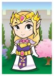Old School- Zelda Trading Card by TheOGCarrieP